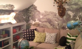 Shannon Berry decorated the Teen Study—very cute and sound proof ... would have loved one of these