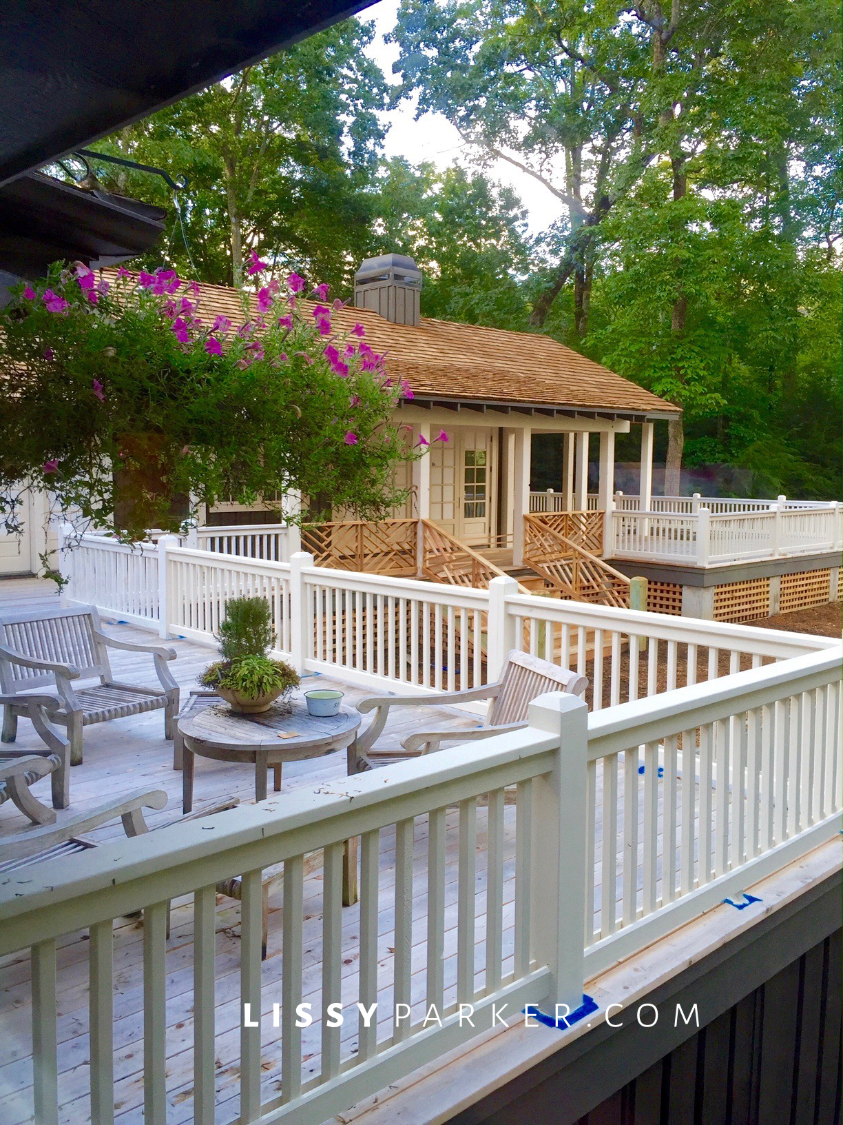 construction update, new porch