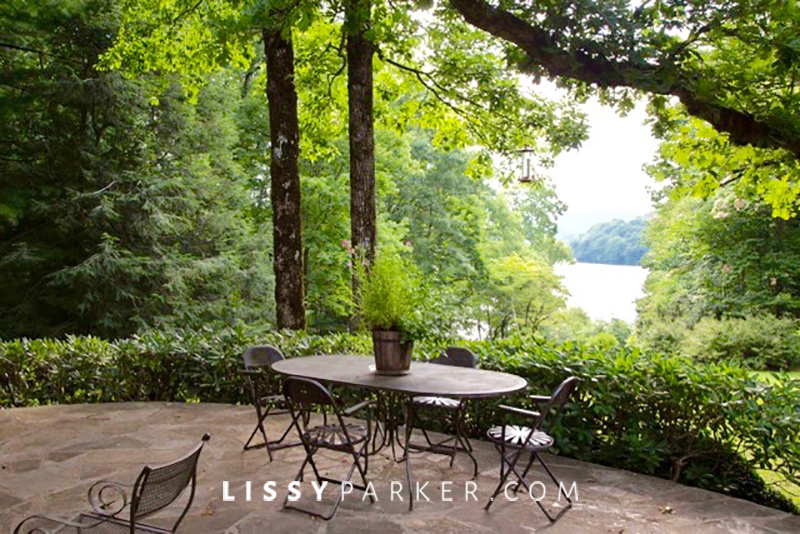 house crush-lake view from patio
