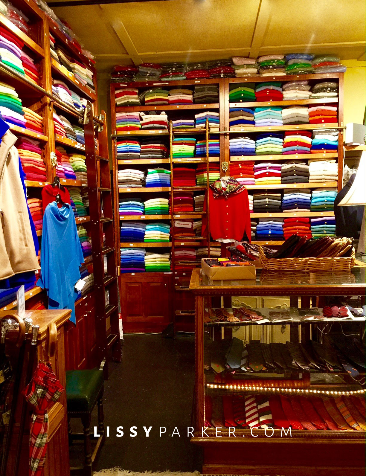 closet for sweaters