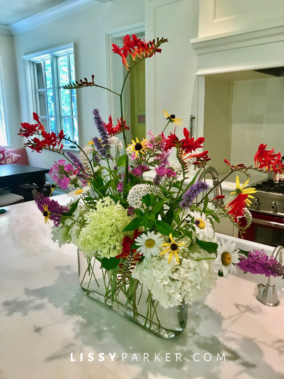 friday flowers garden